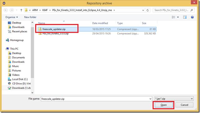 Eclipse_AddRepository_Archive_FreescaleUpdater