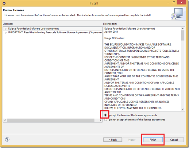 Eclipse_InstallNewSoftware_FreescaleSolutionsCategory_Accept